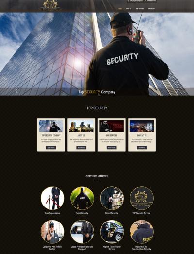 zg_security_website- zj web design